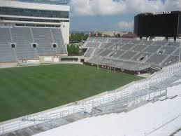 Lane Stadium Interactive Seating Chart Lane Stadium Section 11 Rateyourseats Com