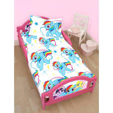 my little pony bedding set painted ponies queen 4 pc