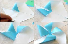 little pports diy pinwheel craft folding paper into pinwheels