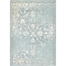 botanic mint cream area rug rugs 5x7