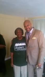 "Mama Bing and Palmer Williams Jr (Floyd) from Tyler Perry's ""House of  Payne"" at Sisters of the New South. 