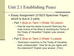 establishing peace unit ppt video online 6 unit 2 1 establishing peace