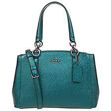 Coach Womens Hand shoulder bag F23337 (Lake blue)