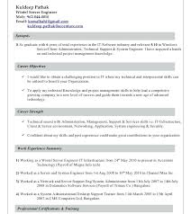 Linux Administrator Resume Sample – Letter Resume Collection