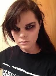 skittstheechidna gerard way revenge era test makeup by skittstheechidna