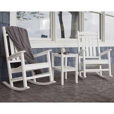 belham living seacrest cottage all weather resin rocking chair set master plastic outdoor with side table