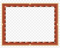 frame picture frame outline red png image frame png hd red 477457