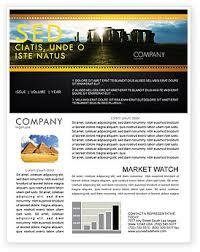 Newletter Formats Flags International Newsletter Templates In Microsoft Word