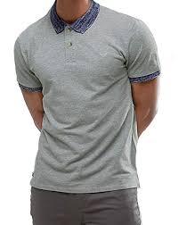 Threadbare Mens Cotton Contrast Collar Polo Shirt <b>Plain</b> Short ...