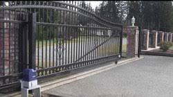 single phase automatic sliding gate motor