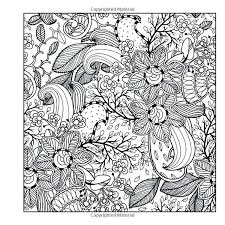 Stress Relief Coloring Pages Flowers Free Coloring Templates Adult