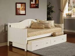 Trundle Day Beds White Day Bed Trundle \u2014 TheNextGen Furnitures ...