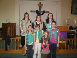 Girl scout sunday 2010