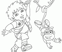 Small Picture Printable 37 Diego Coloring Pages 1605 Diego Coloring Pages