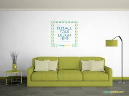 Small Picture Free Wall Mockup on Behance