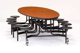 cafeteria 10ft rectangular mobile fixed bench tables some of the