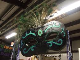 Giant Masquerade Mask Decoration Giant Masquerade Masks for Party Decorations 8