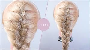 編み込み自分で後ろの髪を編み込みする際のコツ Youtube
