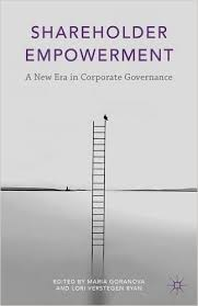 shareholder empowerment review essay corporate governance shareholder empowerment review essay