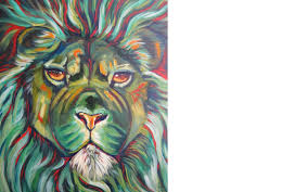 lion painting acrylic. Perfect Lion To Lion Painting Acrylic