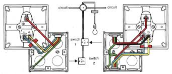 wiring diagram two switches one light images wiring two lights typical wiring diagram for two way switch is shown below