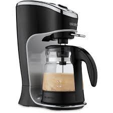 Cafe Latte Kitchen Decor Mr Coffee Cafe Latte Home Brewer Black Bvmc El1 Walmartcom