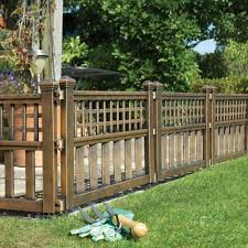 fence panels. Modren Panels Bronze Fence Panels  Pack Of Four Throughout D