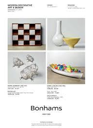 Bonhams Design Bonhams Modern Decorative Art Design Antiques Trade