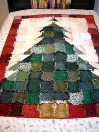 What a fabulous Christmas Quilt! Make rag quilt with Christmas ... & love this rag quilt by nadine Adamdwight.com