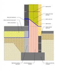 Ground Floor Slab Design Golcar Passivhaus Ground Floor And Foundations Detailing