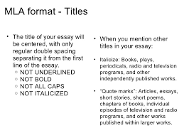 Mla Format For Short Story Titles Ohye Mcpgroup Co