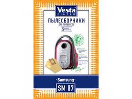 Купить <b>фильтр</b> для пылесоса <b>Vesta</b> SM07, <b>комплект</b> ...