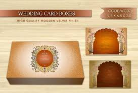 Traditional Wedding Invitation Traditional Wedding Invitation Cards Box Choco Parlour New Delhi
