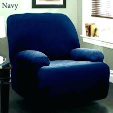 blue leather recliner sectional