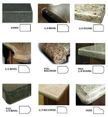 quartz countertop edges quartz standard edge google search cambria quartz countertop edge profiles