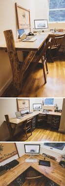 Rustic Desk. Reclaimed wood. Read the story here: http://bradley