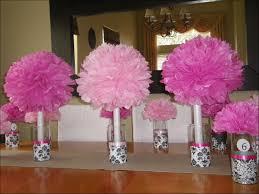 Tissue Paper Flower Centerpieces Paper Flower Center Template Free Bouquet Flowers 6 Easy