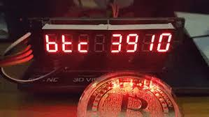 Btcmanager is the best place to check bitcoin price and news items. Github Nebman Btc Ticker Esp8266 Realtime Bitcoin Price On 7 Segment Display With Arduino On Esp8266