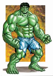 Marvel Green Hulk By Rubusthebarbarian