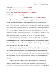 003 Research Paper Mla Format For Essays And Papers How To Write