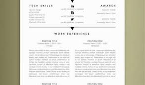 Electrician Resume Template With 29 Best Modern Resume Templates