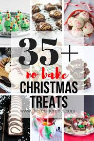 These delicate holiday treats are great for brunch or as a light dessert. 25 Easy Christmas Treats No Bake Christmas Cookies Bars Candies