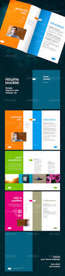 Resume Booklet Template Best of Resume Booklet 24 Pages By GeertDD GraphicRiver