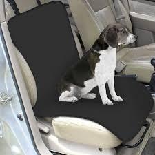 waterproof car protector front seat cover mat black