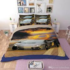 race car bedding twin red race car bedding set polyester sports car design duvet cover bed