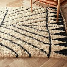 zeal black and ivory rug