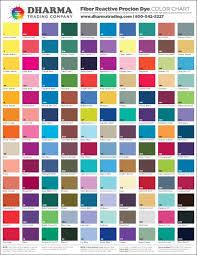 Fabric Dye Mixing Chart Actual Procion Mx Dye Color Chart Dharma Dye Mixing Chart