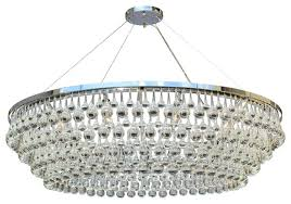 celeste xl glass drop crystal chandelier chrome