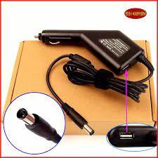 Laptop DC Power Adapter Car Charger 19.5 V 4.62A 90 W + usb port untuk dell  latitude e6320 e6330 e6400 e6410 e6420 E6430|laptop computer ports|laptop  printer porte6320 - AliExpress