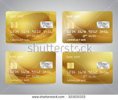 Credit Card Templates For Sale Realistic Credit Card Set Download Free Vector Art Stock Graphics